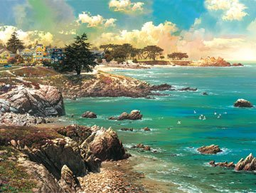 Along the Coast - 500 piece SunsOut puzzle - for Ages 12+