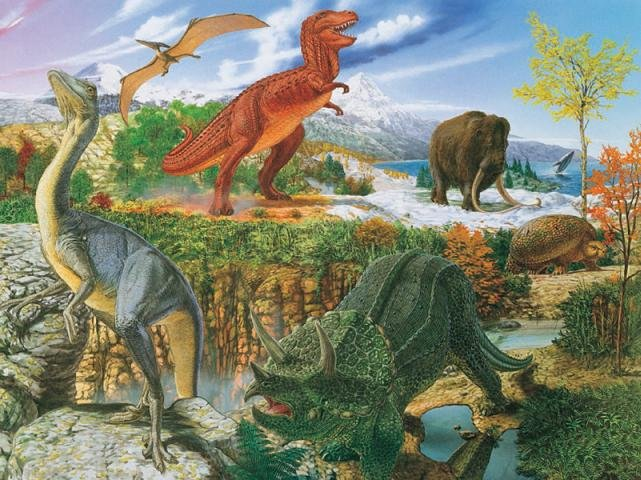 The World of Dinosaurs - 300 piece Ravensburger puzzle - for Ages 9+