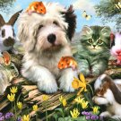 Furry Friends - 550 piece White Mountain puzzle - for Ages 12+