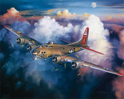B-17 Bomber - 1,000 piece White Mountain puzzle - for Ages 12+
