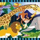 Safari Social - 24 piece Melissa & Doug floor puzzle - for Ages 3+
