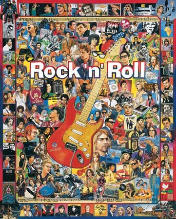 Rock 'N' Roll - 1,000 piece White Mountain puzzle - for Ages 12+