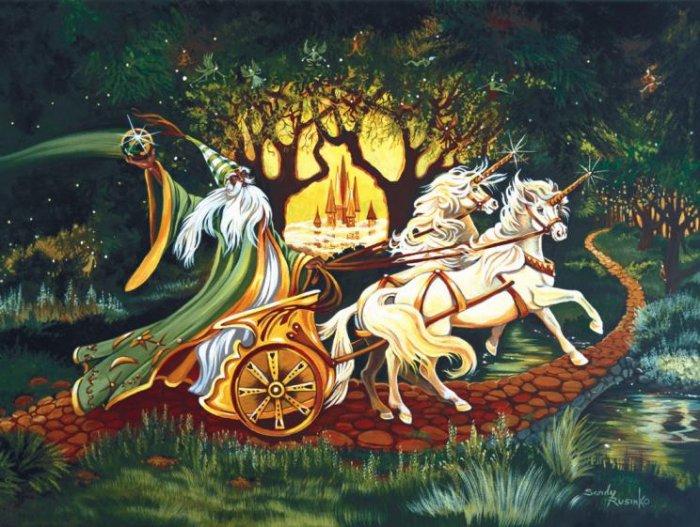 Journey to Enchantment - 500 piece SunsOut puzzle - for Ages 12+