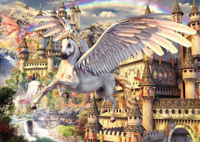 Pegasus - 1,500 piece Ravensburger puzzle - for Ages 12+