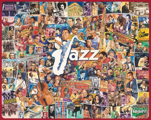 Jazz  - 1,000 piece White Mountain puzzle - for Ages 12+