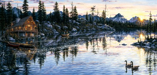 Evening Sunset - 1,000 piece SunsOut puzzle - for Ages 12+