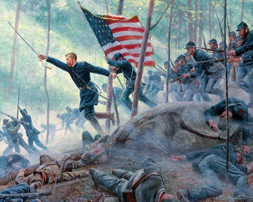 Chamberlain's Charge  - 1,000 piece White Mountain puzzle - for Ages 12+