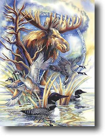 On Golden Pond - 750 piece MasterPieces puzzle - for Ages 12+