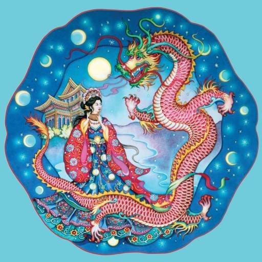 Dragon Maiden - 500 piece SunsOut puzzle - for Ages 12+