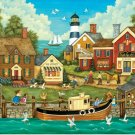 Pesky Seagulls - 500 piece MasterPieces jigsaw puzzle - for Ages 12+