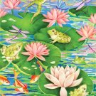 Playful Pond - 500 piece MasterPieces Vertcal Panoramic  jigsaw puzzle - for Ages 12+