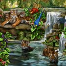 Tiger Falls - 500 piece Ravensburger puzzle - for Ages 12+