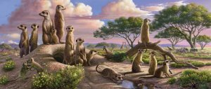 Adorable Meerkats - 200 piece Ravensburger jigsaw puzzle - for Ages 8+