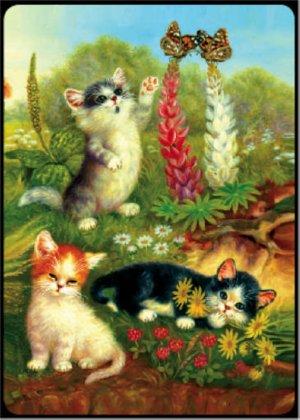 Cats & Butterflies - Bridge Playing Cards - NEW