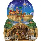 O Star of Bethlehem - 1,000 piece Shaped SunsOut puzzle - for Ages 12+
