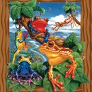 Frogs - 100 piece SunsOut Mini puzzle