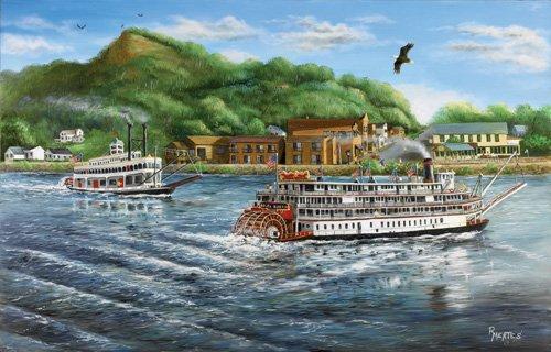River Queen - 1,000 piece SunsOut puzzle - for Ages 12+