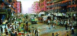 The Street Merchants - 1,000 piece SunsOut puzzle - for Ages 12+