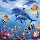 Seahorse Kingdom - 1,000 Large Piece SunsOut puzzle - for Ages 12+