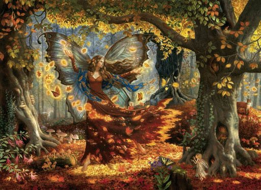 Woodland Fairy - 1,500 piece SunsOut puzzle - for Ages 12+