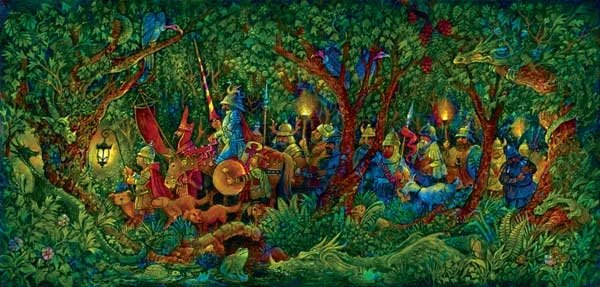 The Dragon Hunters - 1,000 piece SunsOut puzzle - for Ages 12+