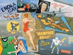 Nose Art Legends of WWII - 1,000 piece SunsOut puzzle - for Ages 12+