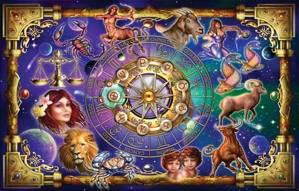 Zodiac 2 - 1,000 piece SunsOut puzzle - for Ages 12+