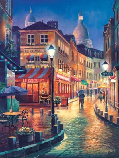 Night Stroll - 300 piece SunsOut puzzle