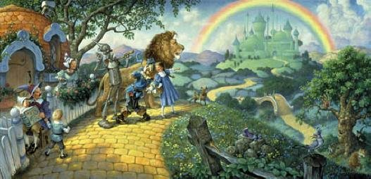 Wizard of Oz - 100 piece SunsOut Mini puzzle
