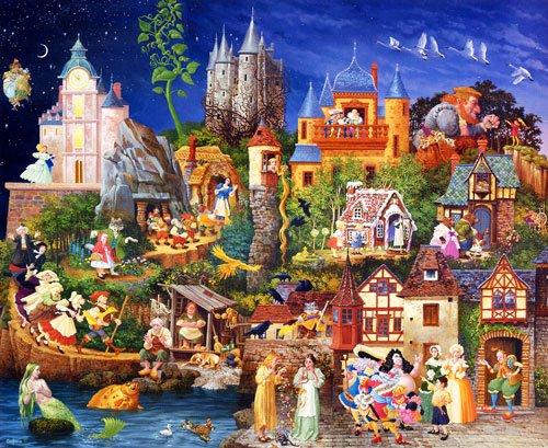 Fairy Tales - 1,500 piece SunsOut puzzle - for Ages 12+
