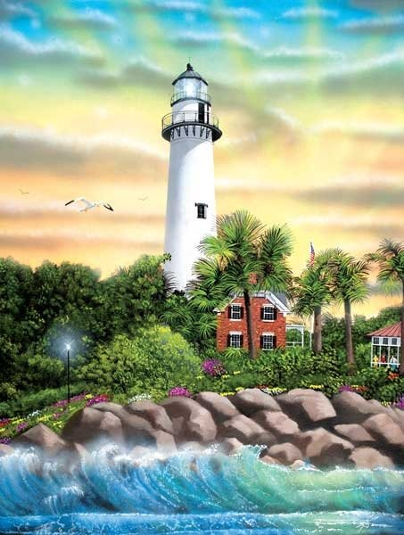 Hope - Lighthouse - 500 piece SunsOut puzzle - for Ages 12+