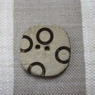 Pair of Light Square Coconut Buttons