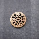 2 Pierced Coconut Shell Buttons