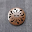 Pierced Wood Button