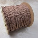 3 metres Cinnamon Brown 4mm Lacing Cord