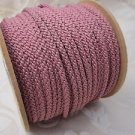 3 metres Dark Rose 4mm Lacing Cord