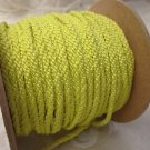 3 metres Bright Yellow 4mm Lacing Cord