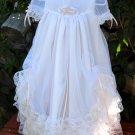 Jessica Handmade Christening Gown 6-9 Months