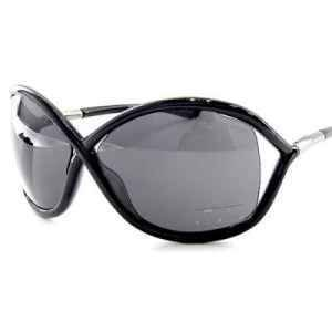 TOM FORD Whitney Sunglasses TF 9 Black 199