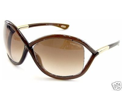 TOM FORD Whitney Sunglasses TF 9 Brown 692