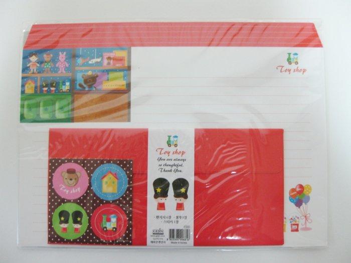 Cute Toy Shop Letter Set