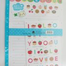 Cute Cakes I Love You Letter Set