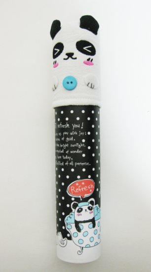 Cute Panda Tube Pencil Case