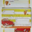Cute Ccomotti Bear and Car Letter Set