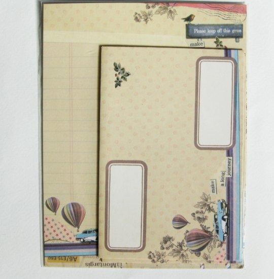 Cute Make A Long Journey Letter Set
