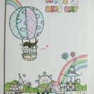 Cute 27 Design Have A Nice Day Korean Letter Pad - Light Blue Cover