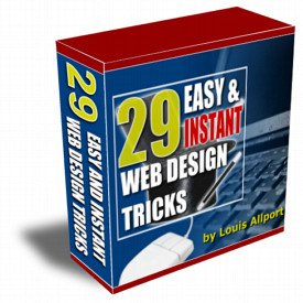 29 Easy & Instant Web Design Tricks