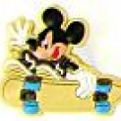 Mickey Mouse on a Skateboard Shoe Charm Croc Decoration Set of 2 Free Shipping