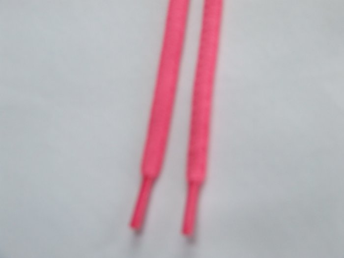 Neon Pink Shoelaces Florescent Pink 114 cm  (45 inch) Hot PInk Shoelaces