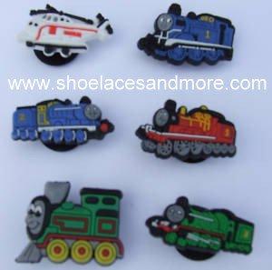 Thomas Train Shoe Charms Croc Decorations Includes Thomas, Harold, Set of 6